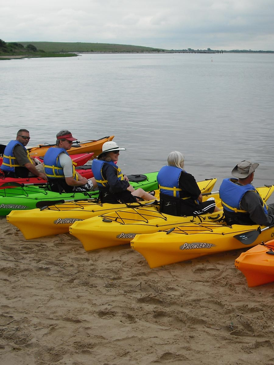 Canarsie Pier Kayaking Lessons