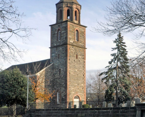 View of St. Paul's churchyard