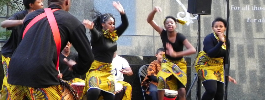 African Burial Ground Dancers