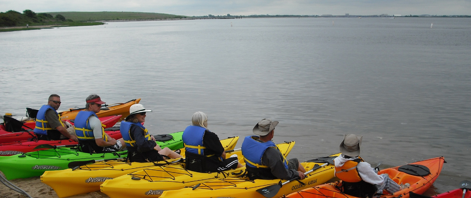 Kayaking lessons at Canarsie Pier